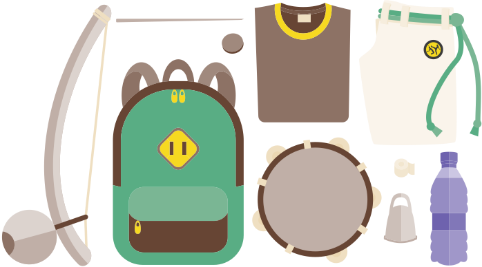 Набор капоэриста